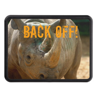 Back Off Rhino Trailer Hitch Covers