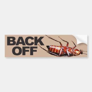 Back Off w/Roach - Bumper Sticker