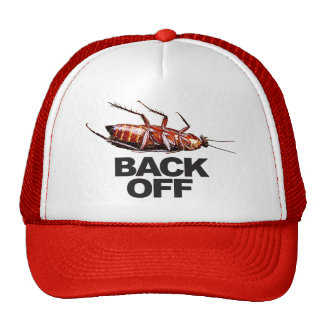 Back Off w/Roach - Trucker Hat