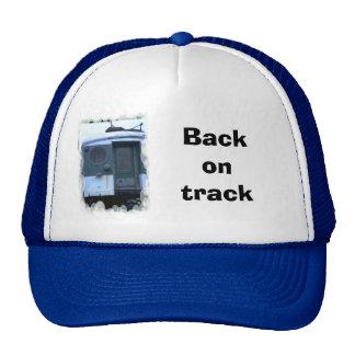 Back on track trucker hat