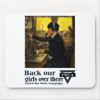 Back Our Girls Over There -- YWCA Mouse Pad