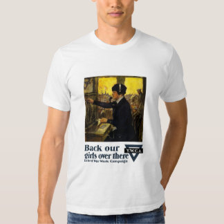 Back Our Girls Over There -- YWCA T-shirt