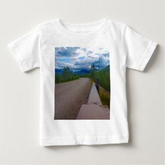 Back road to Polebridge Glacier National Park Baby T-Shirt