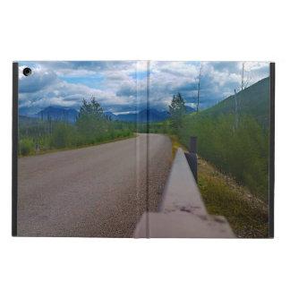 Back road to Polebridge Glacier National Park Cover For iPad Air