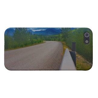 Back road to Polebridge Glacier National Park Cover For iPhone SE/5/5s