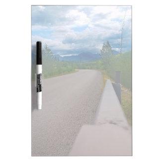 Back road to Polebridge Glacier National Park Dry-Erase Board