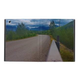 Back road to Polebridge Glacier National Park iPad Covers