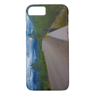 Back road to Polebridge Glacier National Park iPhone 8/7 Case