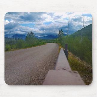 Back road to Polebridge Glacier National Park Mouse Pad