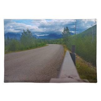Back road to Polebridge Glacier National Park Placemat