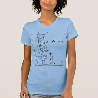 Back roller exercise apparatus T-Shirt