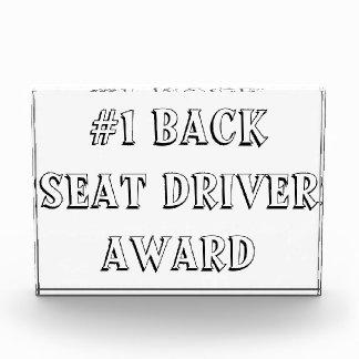 Back Seat Driver Award