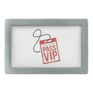 Back Stage Pass Belt Buckles
