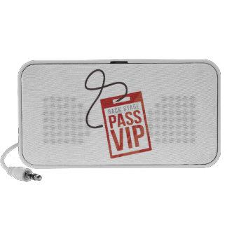 Back Stage Pass iPod Speaker