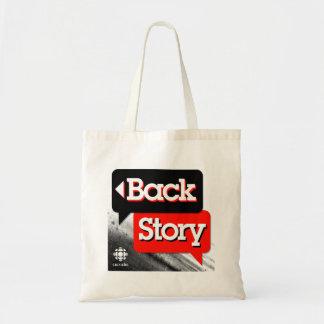 Back Story Tote Bag