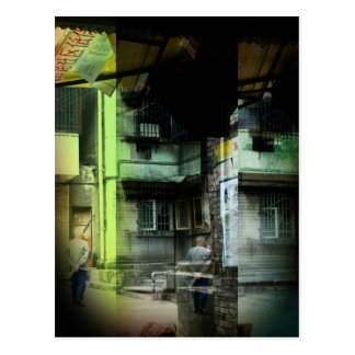 Back Streets Postcard
