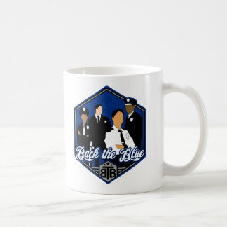 Back The Blue Support the Cops Coffee Mug