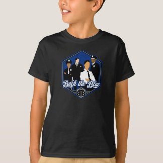 Back The Blue Support the Cops T-Shirt