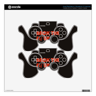 Back the F:/ up Skins For PS3 Controllers