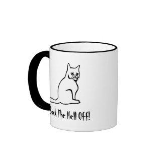 Back The Hell Off! Ringer Coffee Mug