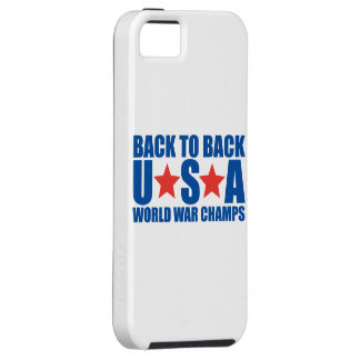Back to Back USA World War Champs iPhone 5 Case