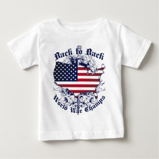 Back to Back World Champs Baby T-Shirt