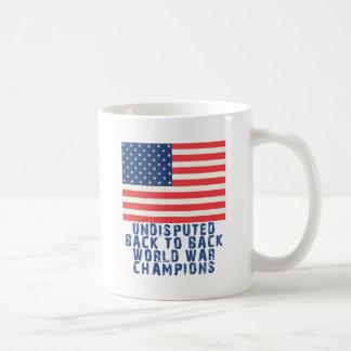Back to Back World War Champions Coffee Mug
