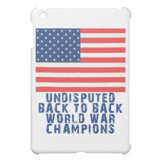 Back to Back World War Champions Cover For The iPad Mini