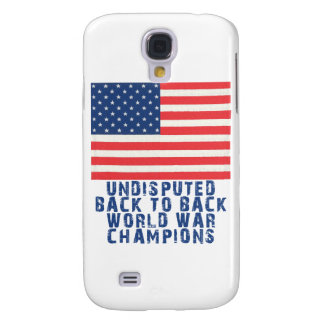 Back to Back World War Champions Galaxy S4 Case