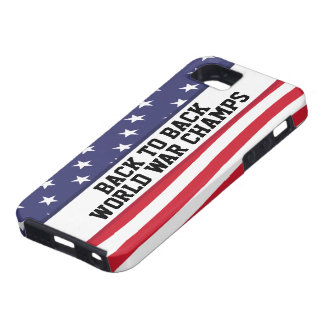 Back to Back World War Champions iPhone 5 Case