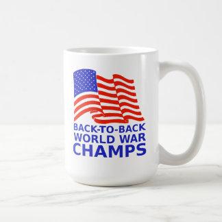 Back to Back World War Champions Mug
