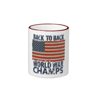 BACK TO BACK WORLD WAR CHAMPIONS MUGS