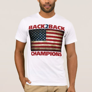 Back to Back (World War) Champions T-Shirt