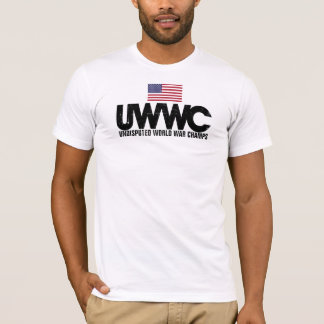 Back to back World War Champions With US Flag T-Shirt