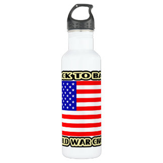 Back to Back World War Champs #2 Water Bottle