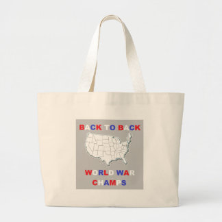 Back To Back World War Champs Canvas Bags