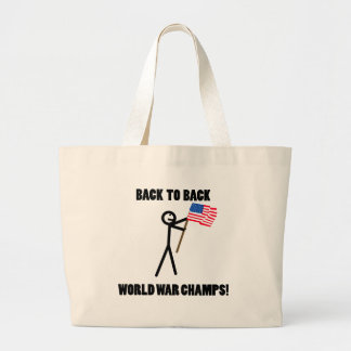 Back to Back World War Champs Bags