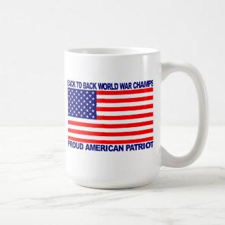 Back to Back World War Champs gear - WW Champions Mug