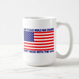 Back to Back World War Champs gear - WW Champions Mugs