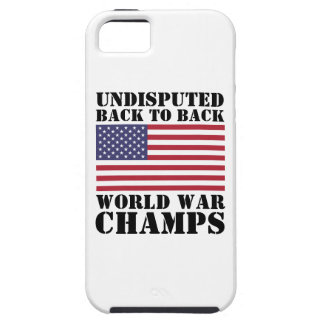 Back to Back World War Champs iPhone 5 Case