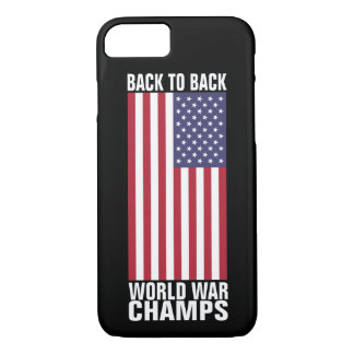 Back to Back World War Champs iPhone 8/7 Case
