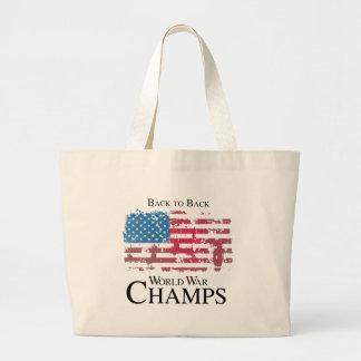BACK TO BACK WORLD WAR CHAMPS png Bag