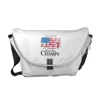 BACK TO BACK WORLD WAR CHAMPS png Messenger Bag