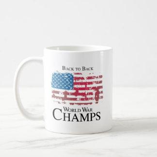 Back to back world war champs.png classic white coffee mug