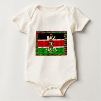 Back to Basics Baby Bodysuit