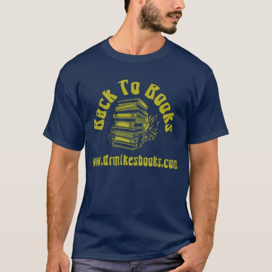 Back to Books - Blue T-Shirt