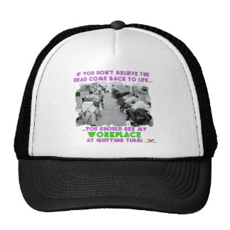 Back to Life Trucker Hat