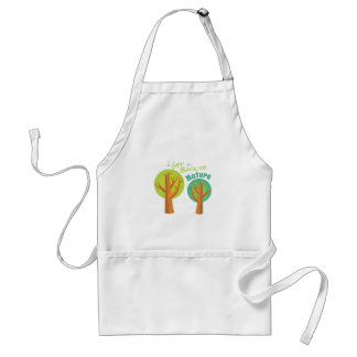 Back To Nature Adult Apron