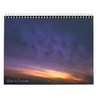 Back To Nature Calendar
