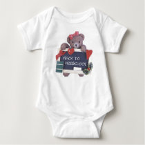 Back To Preschool Design Just For Little Girls Baby Bodysuit